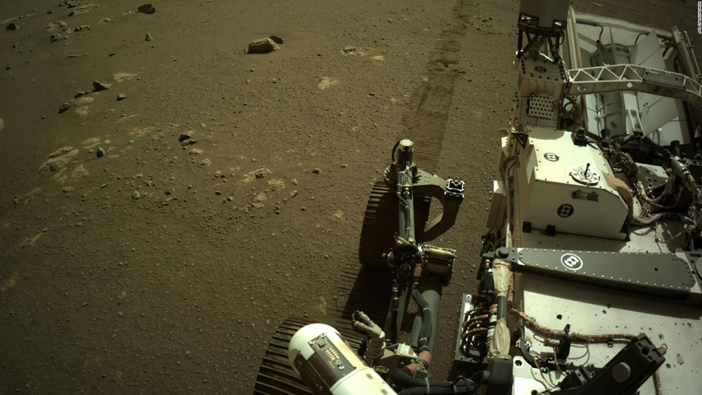 Perseverance sends its own voices from Mars