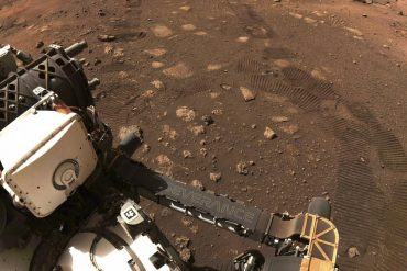 """Video """"Perseverance"""" robot moves to the surface of Mars for the first time"""