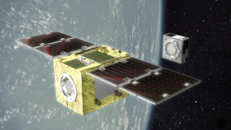 Waste accumulates in the Earth's orbit.  The Japanese satellite also wants to remove it