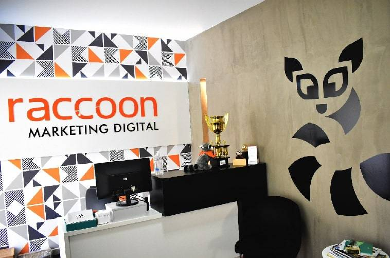 Agência de marketing Raccoon