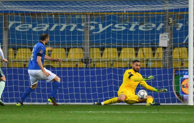Donorumma protects Assuri |  Votes after Italy-Northern Ireland