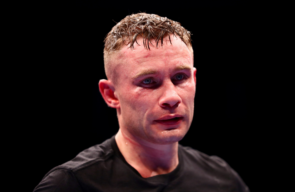 Frampton has vowed to retire if he loses to Herring