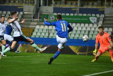 Italy begin to win again: Berardi and Immobile beat Northern Ireland