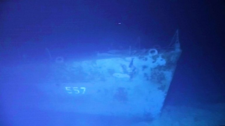 American WWII ship found in Philippines |  The world