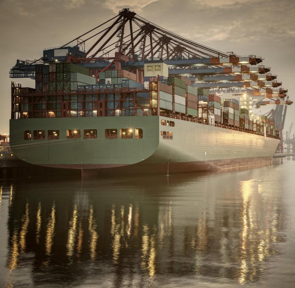 Dutchshland, Hamburg: Container terminal in Hamburg.  Getty Images Getty Images