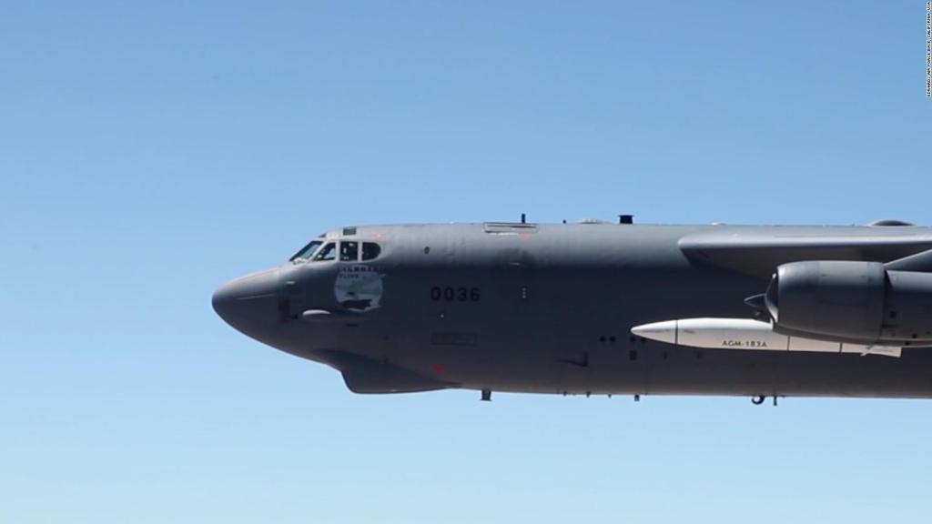 US Air Force missile fails