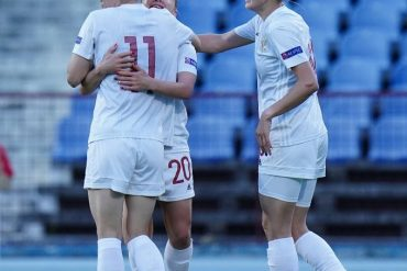 Russia and Northern Ireland win European Women's Cup