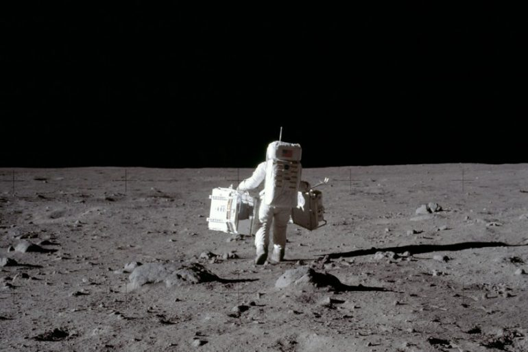 It takes time to orbit the moon