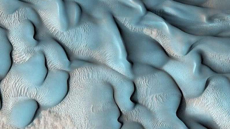 The blues of Mars