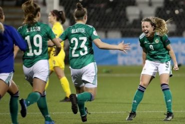 Russia, Switzerland and Northern Ireland finished last in the women's euro
