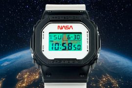 Casio has released the second limited edition G-Shock watch with NASA