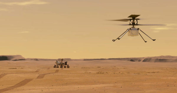 The glider-helicopter that flew over Mars now has the hardware of a 7-year-old smartphone.
