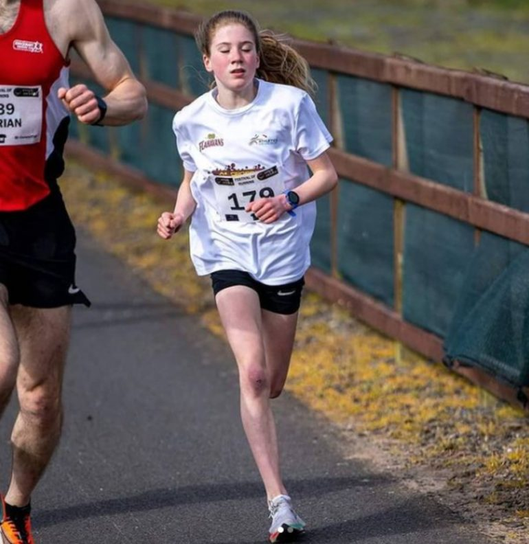 The 12-year-old set a new world record of 5km at his age