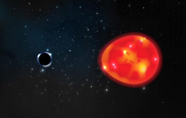 Astronomers have discovered the smallest black hole.  It is in close proximity to Earth - 24T24 - Czech television