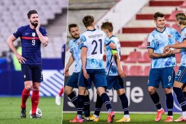 Brief World Cup qualifier: France in trouble against Ukraine - Norway wins by T-shirt message
