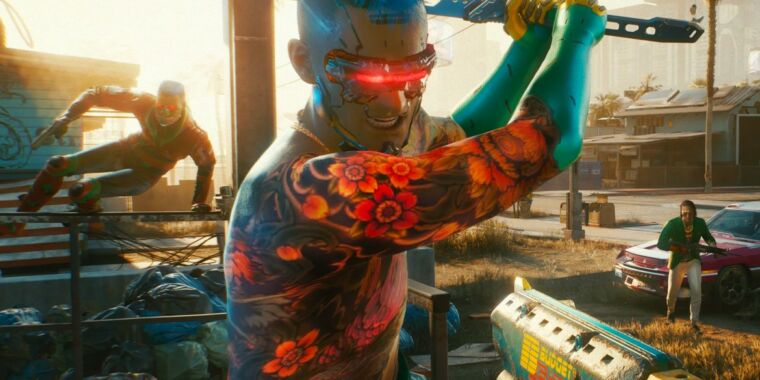 CDPR replaces planned cyberpunk multiplayer game during conversion