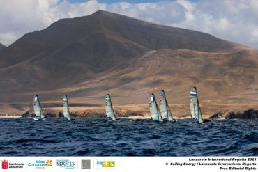 Even on the 49 ships, Italy was further away from the Olympic pass.  Tomorrow is the last day of the regatta at Lanzarote - OA Sport