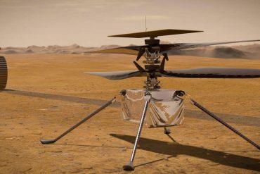 Vol sur Mars: l'hélicoptère Ingenuity est au sol