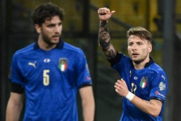 Italy got off to a safe start and beat Northern Ireland in the qualifying round