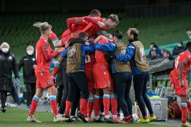 """Luke Holts / """"A big unification"""" after the 1-0 win over Ireland"""