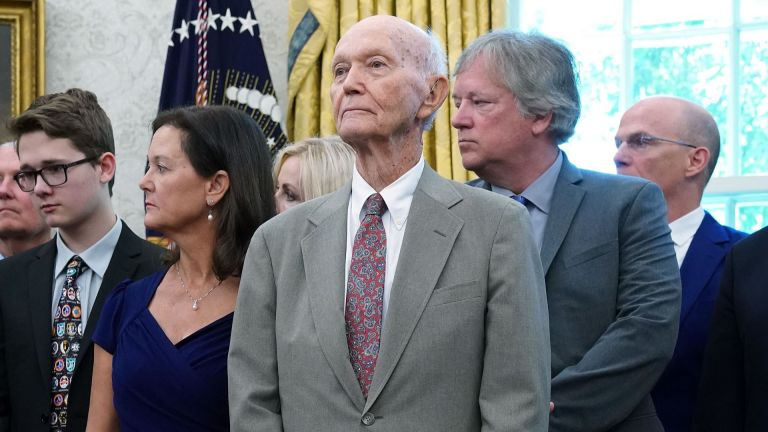 Michael Collins, astronaut from the first Apollo 11 mission to the moon, has died