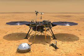 NASA's Mars landing module is in emergency hibernation mode