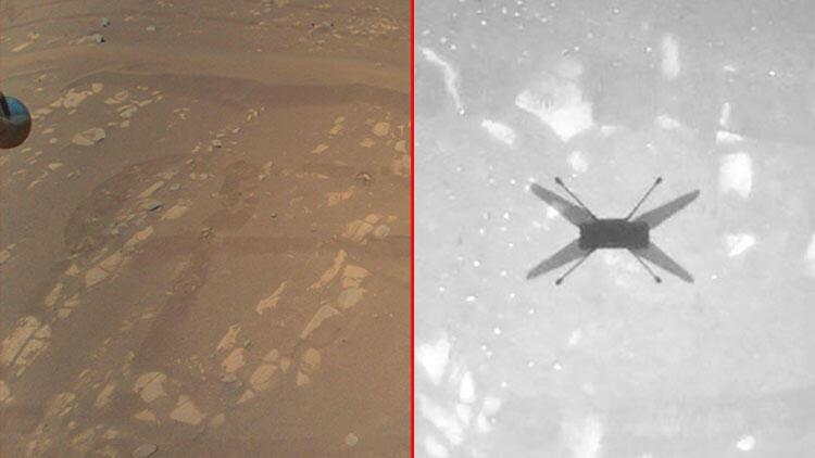 NASA's mini-helicopter trick lands on Mars and sends first photos