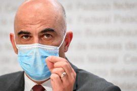 Alain Berset, le ministre de la Santé suisse.