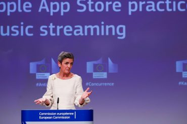 The EU has accused Apple of unfair competition in music applications