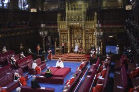 In the United Kingdom, the Queen opens a new parliamentary session.  Johnson aims for economic recovery and unity