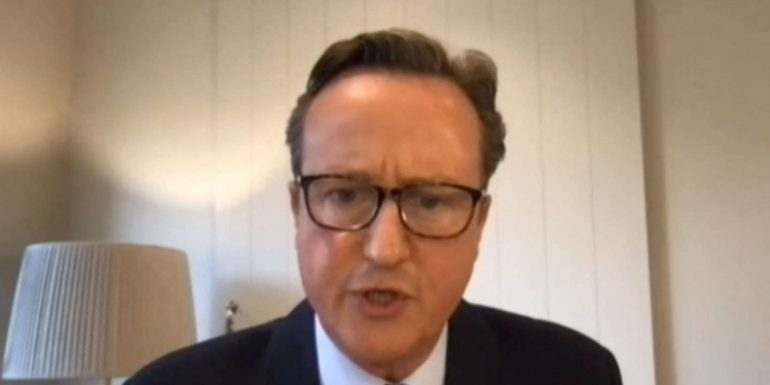 David Cameron is embroiled in a lobby scandal
