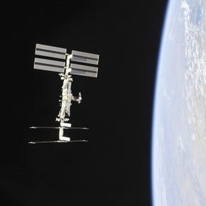 For the first time, a private company will send astronauts to the International Space Station