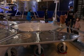 China was able to land a robot on Mars, becoming the third country to set foot on red soil