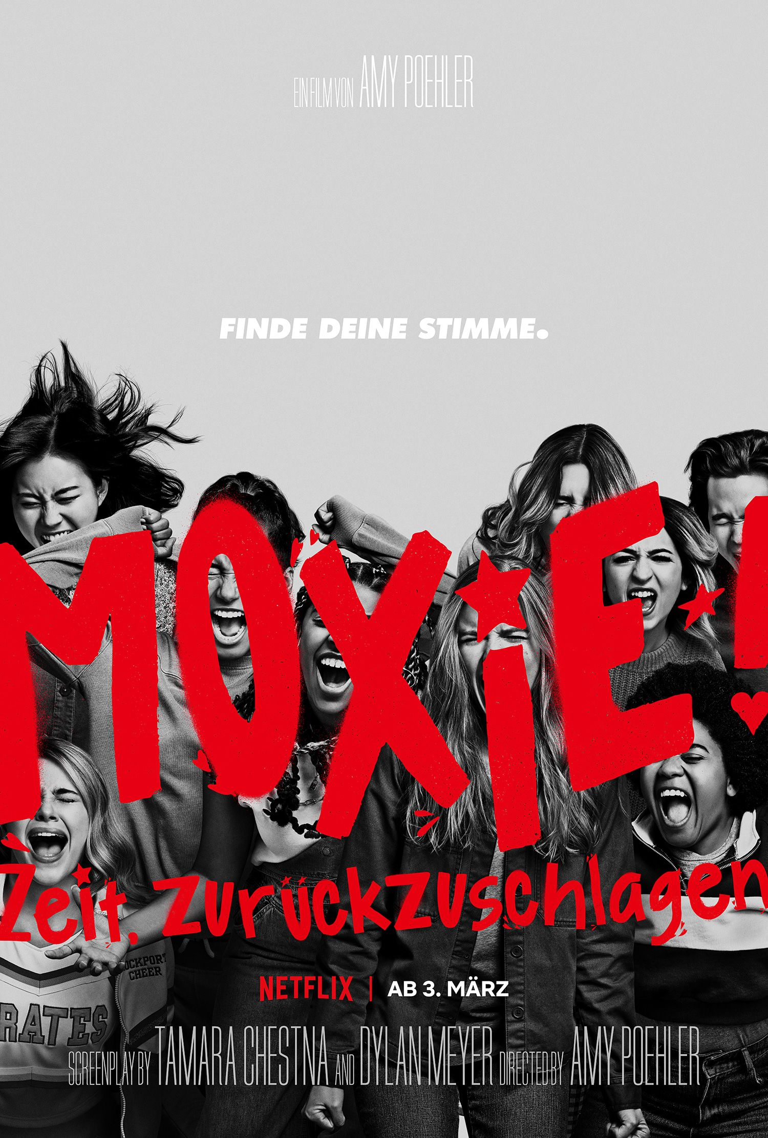"Netflix: Patrick Schwarzenegger ""Moxie - Time to fight"""