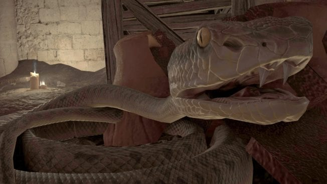 Assassin's Creed Valhalla: Kill the only snake in Ireland