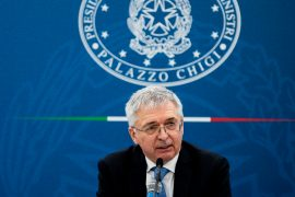 Global minimum tax for multinational companies, revises US rate below: 15%.  Italy agrees: to a deal at the G20 in Venice