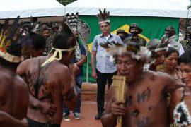 In Brazil, Jair Bolsonaro promises Yanomami natives that they will end illegal mining