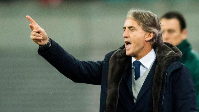 Photo Roberto Mancini has been the head of the Squadron Asura since May 2018.  © afp
