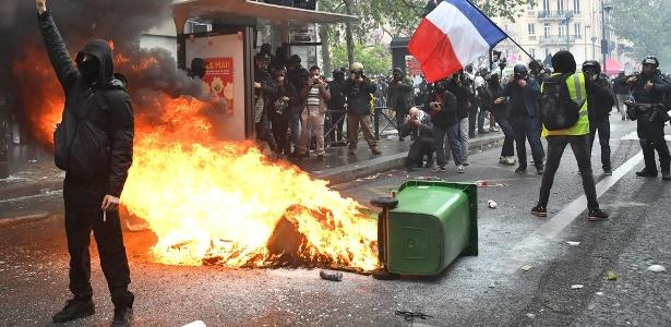 1º de Mayo has clashes in Paris, Istanbul and Berlin;  See photos