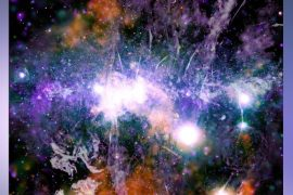 """A new NASA photo shows the """"violent energy"""" of our galaxy / """"This is evidence of a continuum of magnetic field reconnection"""" - Space"""
