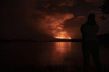 Announcing the eruption of a volcano near Nyaragongo was a false alarm