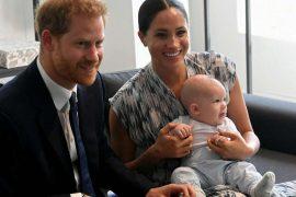 Prinz Harry, Herzogin Meghan und der kleine Archie im September 2019. Foto: imago images/PA Images