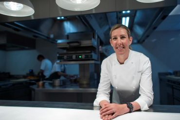 Britain Claire Smith, three-star chef, calm power through the pandemic