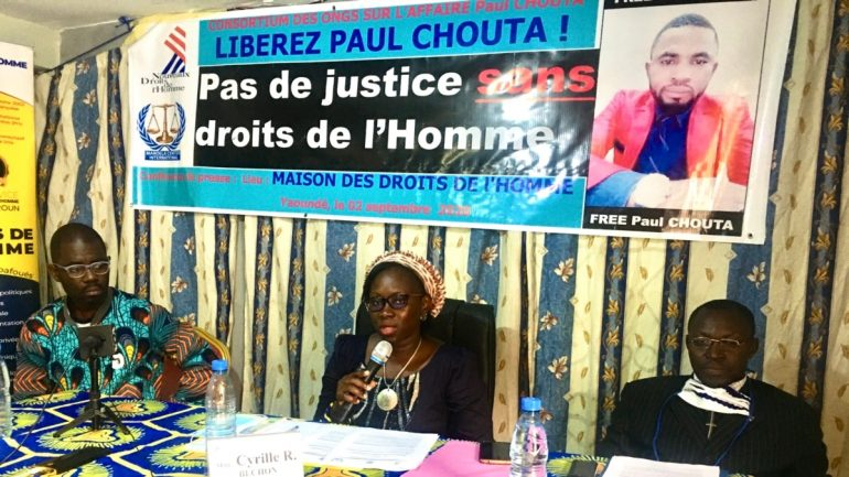 Cameroonian journalist sentenced to 23 months in prison after serving 2 years in prison