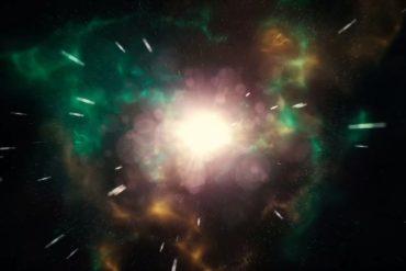 explozia vo vesmire