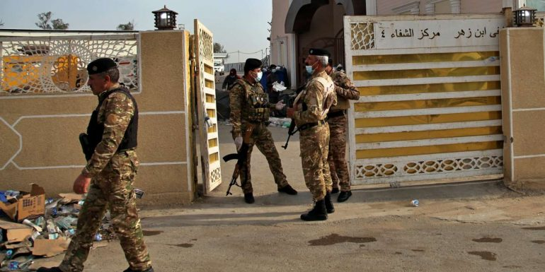 Eighteen people have been killed in four jihadi attacks in Iraq