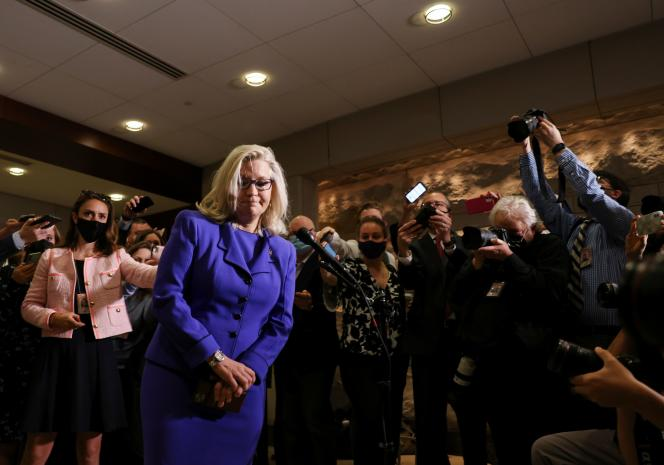 Liz Cheney was elected May 12, 2021, from Wyoming, Washington.
