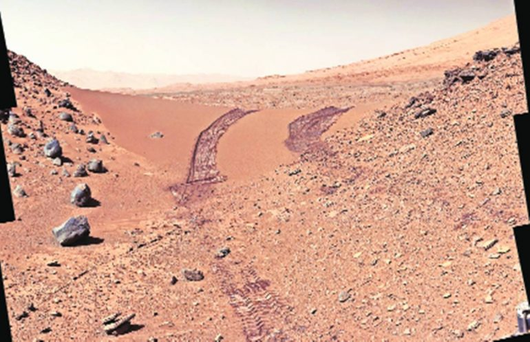 NASA's satellite finds evidence of salt on Mars - Astronomy