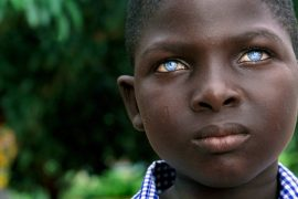 New scientific studies claim that the Irish ancestors were black with blue eyes