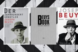 3 Cover von besprochenen zu Joseph Beys  (Cover von kultur.west, Steidl, C.H. Beck)